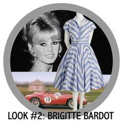 1950s fashion and cars at Goodwood Revival