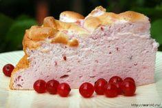 ягодно-белковый десерт