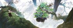 Mushishi | Artland | Yuki Urushibara / Ginko / 「蟲師」/「KIKURIN」のイラスト [pixiv]