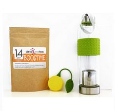 "KICK START NATURAL ENERGY TEA ( with Ginseng) + a ""FREE"" SILICONE LEMON SHAPE TEA STRAINER VALUED AT US$5"