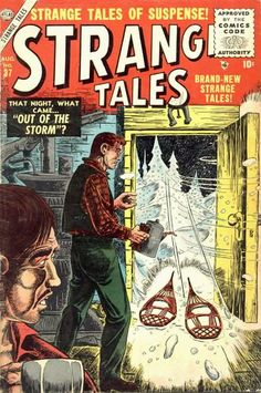 Strange Tales # 37 by Sol Brodsky
