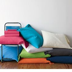 4-Piece Twin XL Jersey Sheets Set / Dorm Bedding | The Company Store