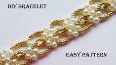 DIY elegant beaded bracelet  - YouTube