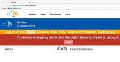 """New Yorkers across the state continue to sign up for emergency alerts. Be """"in the know"""" wherever you go."""