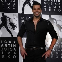 Ricky Martin promotes Musico Alma Sexo