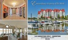 This luxurious riverfront condo has been freshly painted and awaits its new owners. The 4700 square foot one story third floor unit was designed by Tim Winters with many unique architectural details, finishes, hardwood flooring and moldings throughout. You can enjoy views of the adjacent marina and Ohio River from most rooms of the home or on one of 4 balconies. More info: http://www.lenihansothebysrealty.com/sales/detail/223-l-954-yg22jz/5445-harbortown-circle-unit-5445-prospect-ky-40059