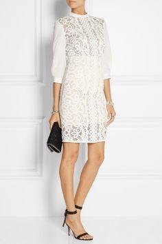 Lover|Libra lace pencil skirt|NET-A-PORTER.COM