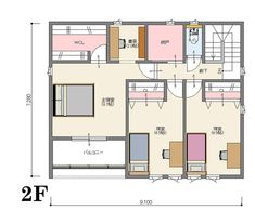 間取り【南玄関 4LDK 38坪】C   いえものがたり株式会社 ジャストオーダー <宇都宮市/注文住宅> Floor Plans, Floor Plan Drawing, House Floor Plans