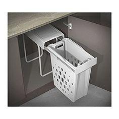 WESCO LAB1294WLD-10 Mülltrennsystem, Plastik, Weiß, 27.5 x 56 cm: Amazon.de: Küche & Haushalt