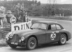1951. 3rd place Aston Martin DB2.