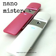 New model Nano Mister helps cure adhesive faster! Use once you are done applying lashes. Mist for at least 10 seconds. 9ml Water reservoir. Mists for 60 seconds with automatic turn off. USB cable incl