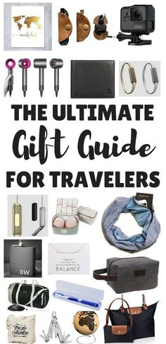 The Best Travel Gifts for any occasion inc Travel Gifts for Women, Travel Gifts for Men, Practical Travel Gifts & Travel Gifts to soothe a wanderlust soul