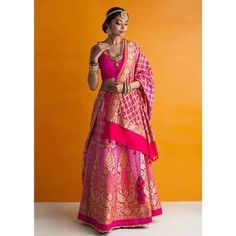 Best Designer Stores In Defence Colony For Wedding Shopping With Prices Pink Lehenga, Colonial, Cool Designs, Wedding Shopping, Sari, Bridal, Fashion, Saree, Moda