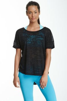 Oxygen Tee - perfect to throw over workout clothes and they have different colors.
