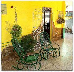 Detalle del patio. Cuba, Patio Interior, Prado, Trinidad, Painting, Art, Art Background, Painting Art, Kunst