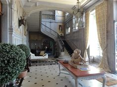 """Old World, Gothic, and Victorian Interior Design. Not exactly a """"tract"""" house. WOW!"""