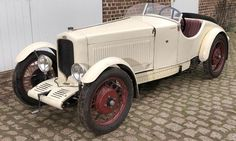 This 1930 G.A.R. Type B5 will show up restored at Pebble Beach. This picture is before restoration.