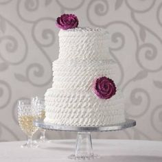Publix cakes prices: plain cake 3 tier cake to feed 50-75 people cost 250.00 and a 3 tier cake to feed 60 people costs 190.00. 30.00 delivery fee if you want it delivered.  Enchanted Ruffle