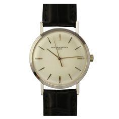 Stainless Steel Wristwatch Ref 6133 circa 1950s by Vacheron & Constantin
