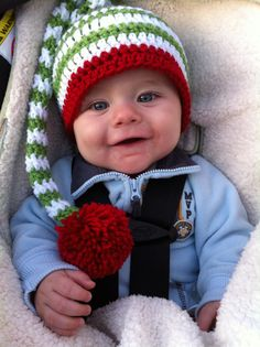 Crochet Elf Hat Any Color by OopsyDaisyBB on Etsy,