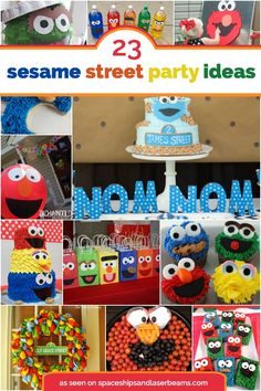 We may not be able to tell you how to get to Sesame Street, but we can certainly share with you 23 sensational Sesame Street party ideas! Whether your favorite character is Cookie Monster, Big Bird, Oscar or Elmo, we've rounded up a variety of fun ideas perfect for... #birthday #featured #party