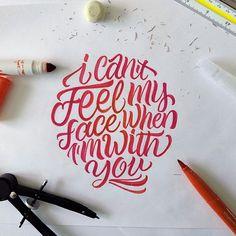 david milan caligrafía caligrama