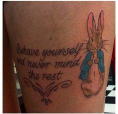 Peter Rabbit tattoo by Victoria Rose Lundberg Wild at Heart Tattoo ...