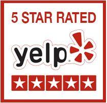 5-Star Rating on Yelp