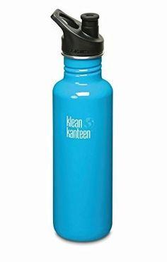Klean Kanteen Stainless Steel Bottle with 3.0 Sport Cap