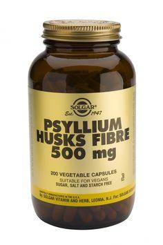 solgar psyllium husks fibre 500mg 200's