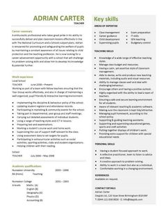 Sous Chef Resume Examples ideas about sample resume on pinterest resume examples ideas about sample resume on pinterest resume examples Teaching Cv Template Job Description Teachers At School Cv Example Resume