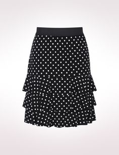 Ruffle Polka Dot Skirt