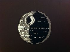 Shadow of the Death Star - Star Wars perler bead sprite