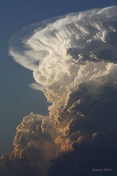 Spectacular Cloud formation