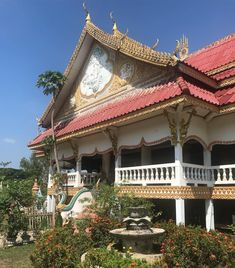 Beautiful building at Champasak Laos Champasak is full of attractive temples Beautiful Buildings, Southeast Asia, Temples, Laos, Fair Grounds, Travel, Instagram, Viajes, Trips