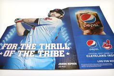 Lawton Connect | Pepsi POP Diecut Header #wideformat