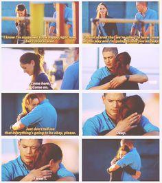 Michael and Sarah...prison break. <3 <3