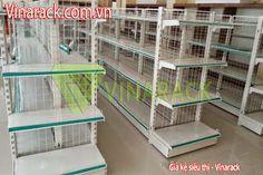 warehouse racking - kệ kho hàng: Kệ trưng bày lắp ghép