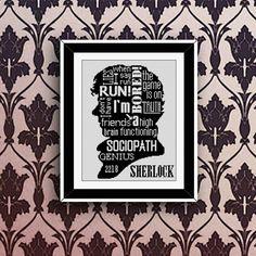 BoGo Pattern cross stitch Sherlock Quotesgram by LolitaMade