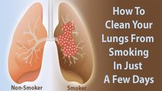 (Attention) This Recipe Will Easily Cleanse Your Lungs in 3 Days.