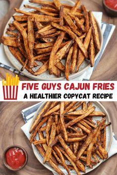 Potato Seasoning Recipe, Five Guys Cajun Seasoning Recipe, Easy Chicken Recipes, Veggie Recipes, Cooking Recipes, Season Fries Recipe, French Fry Seasoning, Cajun Fries, Seasoned Fries