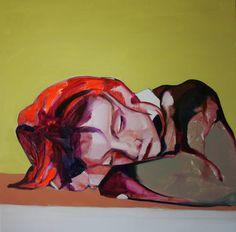 "Saatchi Art Artist Patricia Derks; Painting, ""Afternoon snooze"" #art"