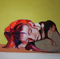 "Saatchi Art Artist Patricia Derks; Painting, ""Afternoon snooze"" #art"