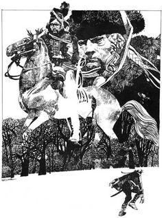 "Sergio Toppi ""That's a very, very big dude Sergio."" KB"
