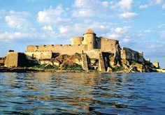 Castles and Fortresses of Ukraine. I've been to this one. I believe it was called Hotyn (spelling?)