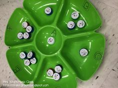 Dip Tray Workstations: Bottle Cap Pitches  Mrs. King's Music Class