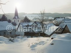 Eifeldorf im Winter