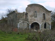 "Abandoned Church ""St. George"" in Ezerets, Dobrich Province, Bulgaria"
