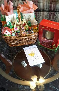 How to fill the perfect easter basket with lindt holidays 2016 wifeys lindt basket with a bit of james avery in it negle