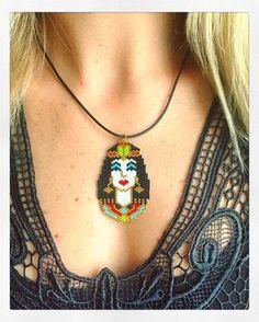 Reborn of Kleopatra #kleopatra #kleopatranecklace #miyuki #miyukibeads #necklace #miyukinecklace #beaded #beadedkeychain #beadedbracelets #miyukibracelet #handmade #handmadeaccessory